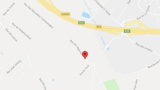 Document Solution Liège S.A : Parc industriel Bonne Fortune, 21, rue Laguesse 4460 Grâce-Hollogne