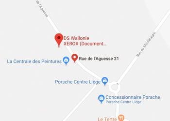 DS Wallonie XEROX (Document Solution Liège S.A) Rue de l'Aguesse 21, 4460 Grâce-Hollogne, Belgique