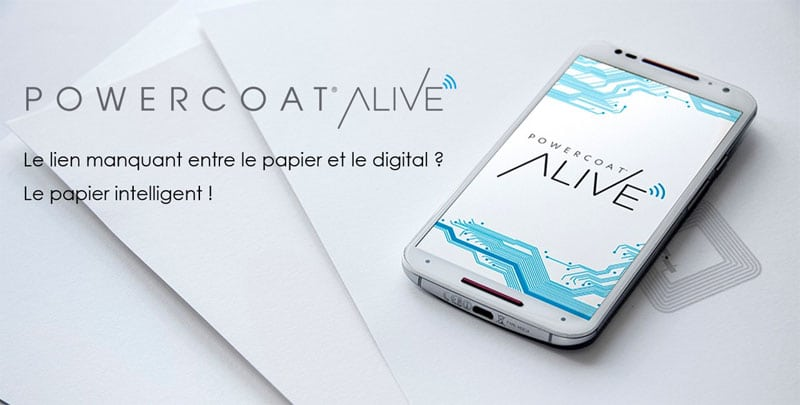 Power Coat Alive : le lien manquant entre le papier et le digital ? Le papier intelligent