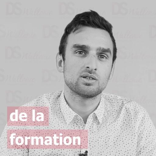 Maxime Lagaeysse : de la formation