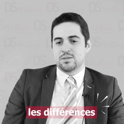 Olivier Willems : les différences